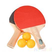 Pálky na ping pong s míčky