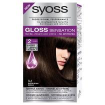 Syoss Gloss Sensation Hnědá Moka 3-1