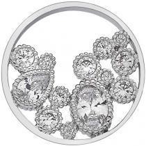 Hot Diamonds Přívěsek Hot Diamonds Emozioni Freedom Spirito Libero Coin 25 mm