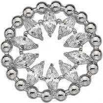 Hot Diamonds Přívěsek Hot Diamonds Emozioni Alloro Innocence Coin EC456-457 25 mm