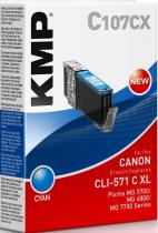 KMP C107CX (CLI-571C XL)