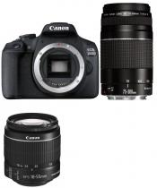 CANON EOS 2000D + 18-55 mm IS + 75-300 mm