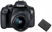 CANON EOS 2000D + 18-55 mm IS II + LP-E10