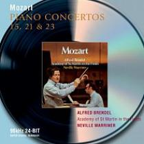Alfred Brendel, Academy of St. Martin in the Fields, Sir Neville Marriner – Mozart: Piano