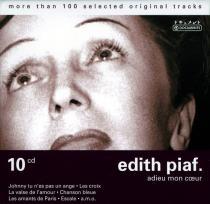 Edith Piaf - Adieu Mon Coeur - 10 CD