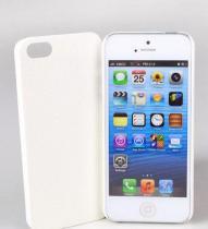 Jekod iPhone 5 kožený kryt bílý
