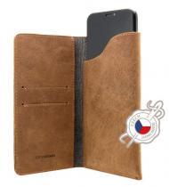 FIXED Pocket Book pro Apple iPhone 6/6S/7/8 hnědé