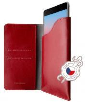 FIXED Pocket Book pro Apple iPhone X/Xs červené
