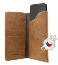 FIXED Pocket Book pro Apple iPhone X/Xs hnědé