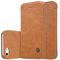 Nillkin Qin Book Brown pro Apple iPhone 5/5S/SE