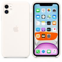 Apple (MWVX2ZM/A) Silicone Case pro Apple iPhone 11 White