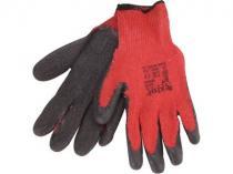 Rukavice bavlněné Extol Premium (8856640) rukavice bavlněné polomáčené v LATEXU, 8&quot velikost 8&quot