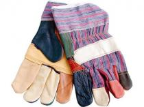 "Rukavice kožené (9967) rukavice kožené s vyztuženou dlaní, 10"""