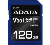 ADATA SDXC Premier Pro 128GB 95MB/s UHS-I U3 - ASDX128GUI3V30S-R