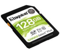 Kingston SDXC Canvas Select Plus 128GB 100MB/s UHS-I - SDS2/128GB