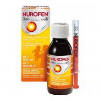 NUROFEN Pro děti Jahoda 20 mg/ml 100 ml