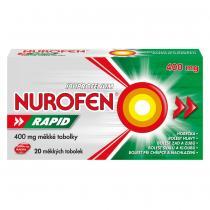 NUROFEN Rapid 400 mg 20 měkkých tobolek