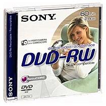 Média DVD-RW DMW-60A SONY pro DVD kamery, 8cm