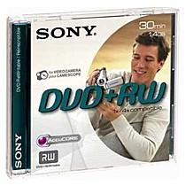 SONY DVD+RW DPW-30A pro DVD kamery, 8cm