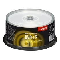 Média DVD-R Imation 4.7GB 16x, Printable CB 30ks