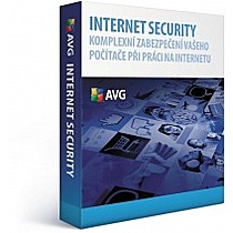 AVG Internet Security 3 lic. (24 měs.) SN DVD