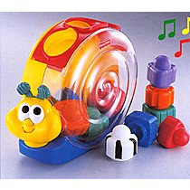 Mattel Vkládačka šnek