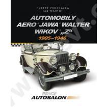 """Automobily Aero, Jawa, Walter, Wikov, """"Z"""""""