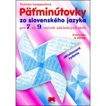 Päťminútovky zo slovenského jazyka pre 7. až 9. ročník základných škôl