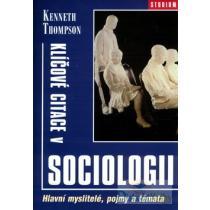 Klíčové citace v sociologii