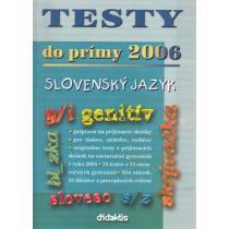 Testy do prímy Slovenský jazyk