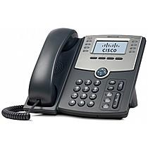 Cisco 8 Line IP tel., Display,PoE,PC Port, SPA508G