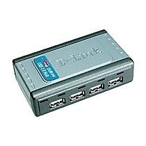 D-Link 4-Port Hi-speed USB 2.0 Hub
