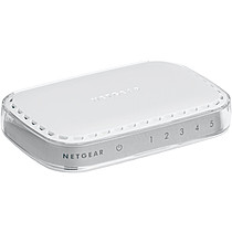 NETGEAR - 5 PORT GIGABIT DESKTOP SWITCH