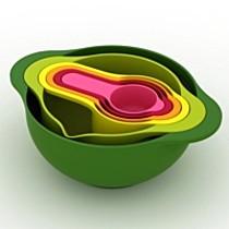 Joseph Joseph Sada plastového nádobí - Nest 6 (mísy a odměrky)