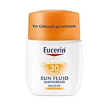 Eucerin Zmatňující emulze na opalování na obličej SPF 30 50 ml