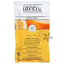 Lavera Mořská koupelová sůl BIO Pomeranč BIO Rakytník 80 g