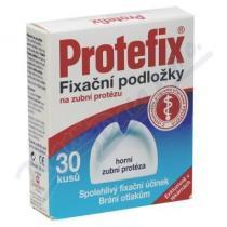 Protefix Fixační podložky - horní zubní protéza 30ks