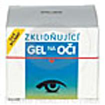 Zklidňující gel na oči