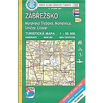 KČT 52 Zábřežsko, Moravská Třebová, Mohelnice, Uničov, Litovel