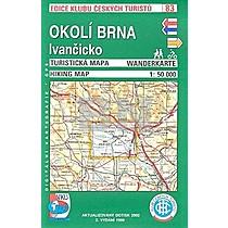 KČT 83 Okolí Brna, Ivančicko