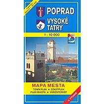 10 000 Mapa mesta Town plan Stadtplan Plan miasta Városté