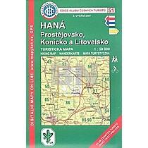 KČT 51 Haná Prostějovsko, Konicko a Litovelsko