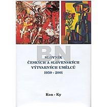 Slovník českých a slovenských výtvarných umělců 1950 - 2001 Kon-Ky