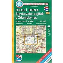 KČT 87 Okolí Brna, Slavkovské bojiště a Ždánický les