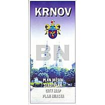 Krnov - plán města