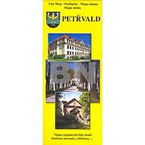 Petřvald Mapa města