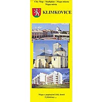 Klimkovice mapa města 2003