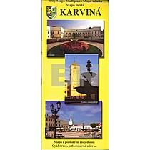Karviná Mapa města