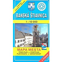 10 000 Mapa mesta Town plan Stadtplan Plan miasta Várostérk