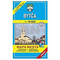 Bytča Mapa mesta Town plan Stadtplan Plan miasta Várostérkép